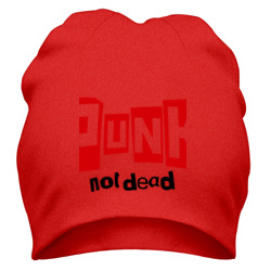 Шапка 'Punk not Dead'