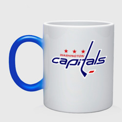 Кружка хамелеон 'Washington Capitals'