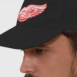 Бейсболка 'Detroit Red Wings'