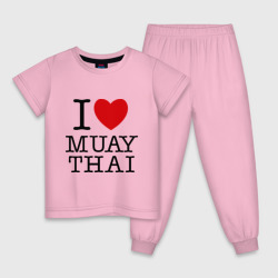 I love Muay Thai