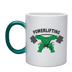 Кружка хамелеон Powerlifting(Пауэрлифтинг)