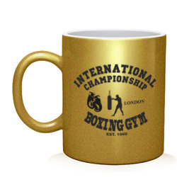 International championship boxing