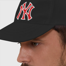 Бейсболка NY Yankees red (3)