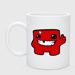 Кружка 'Super Meat Boy'