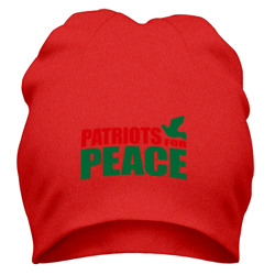 Шапка 'Patriots For Peace'