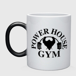Кружка хамелеон Power House Gym