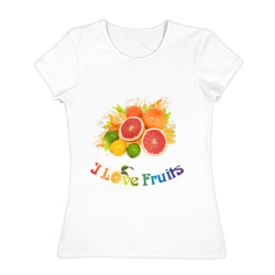 'i love fruits'