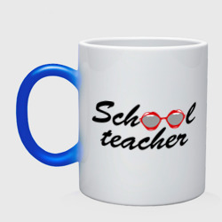 Кружка хамелеон school teacher