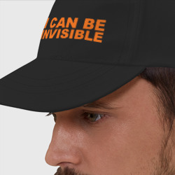 Бейсболка 'I can be invisible'