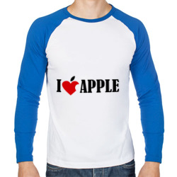 'love apple с листиком'