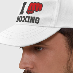 Бейсболка i love boxing - я люблю бокс