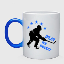 Кружка хамелеон 'iPlay Ice Hockey'