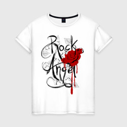 Rock angel red rose