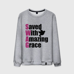 'Saved with amazing grace'