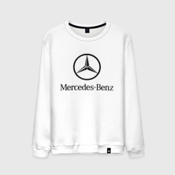 Мужской свитшот хлопок 'Logo Mercedes-Benz'