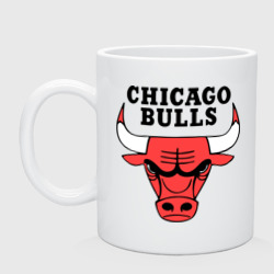 Кружка 'Chicago bulls logo'