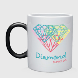 Кружка хамелеон 'Diamond supply CO. Fullcolor'