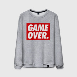 Мужской свитшот хлопок 'Obey Game Over'