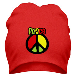 Шапка 'Peace red, yellow, green'