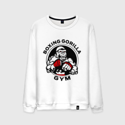 Мужской свитшот хлопок 'Boxing gorilla gym'