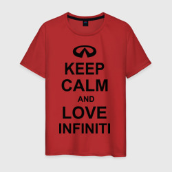 keep calm and love infiniti