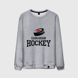 Мужской свитшот хлопок 'Canadian hockey.'
