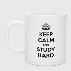 Фото Keep calm and study hard