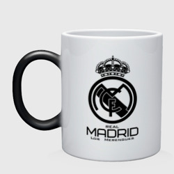 Кружка хамелеон Real Madrid