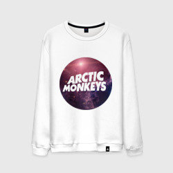 Мужской свитшот хлопок Arctic monkeys space logo