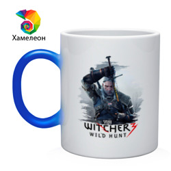 Кружка хамелеон 'The Witcher 3'