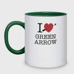 'I LOVE GREEN ARROW'