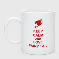 Кружка 'Keep, calm, Fairy Tail'
