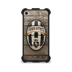 Чехол для Apple iPhone 4/4S flip Juventus