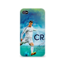 Чехол для Apple iPhone 4/4S 3D Ronaldo