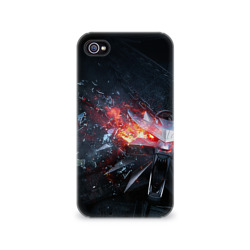 Чехол для Apple iPhone 4/4S 3D Волк