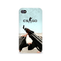 Чехол для Apple iPhone 4/4S 3D Counter Strike