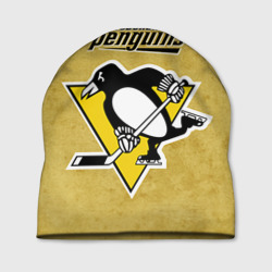 Шапка 3D Pittsburgh Pinguins
