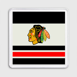 Магнит 55*55 Chicago Blackhawks