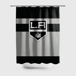 Штора 3D для ванной Los Angeles Kings