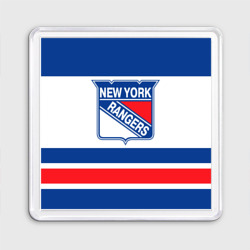 Магнит 55*55 New York Rangers