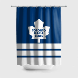 Штора 3D для ванной Toronto Maple Leafs