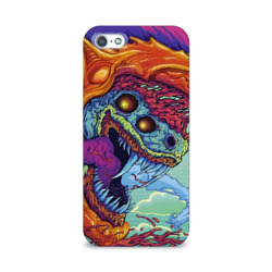 Чехол для Apple iPhone 5/5S 3D Hyper beast