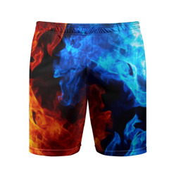 0e9e41a4 Мужские шорты 3D спортивные 'Битва огней'
