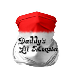 Бандана-труба 3D 'Daddy's lil monster'