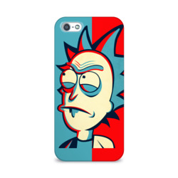 Чехол для Apple iPhone 5/5S 3D Rick