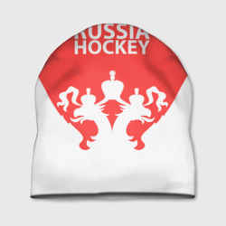 Шапка 3D 'Russia Hockey'