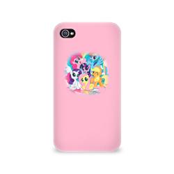 Чехол для Apple iPhone 4/4S 3D My little pony 3