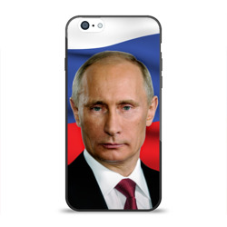 Чехол для Apple iPhone 6 силиконовый глянцевый 'Путин Владимир Владимирович'
