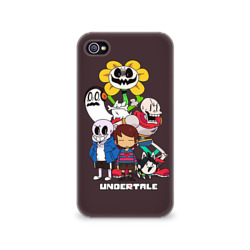 Чехол для Apple iPhone 4/4S 3D Undertale 3