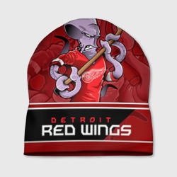 Шапка 3D Detroit Red Wings